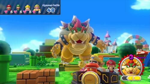 A screenshot of Mario Party 10 for Wii U from E3 2014.