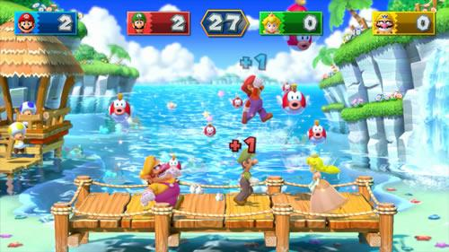 A screenshot of Mario Party 10 for Wii U from E3 2014 #2