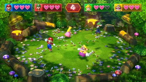 A screenshot of Mario Party 10 for Wii U from E3 2014. #3