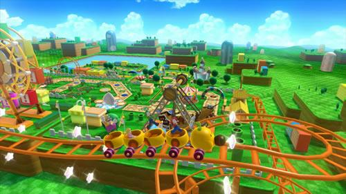 A screenshot of Mario Party 10 for Wii U from E3 2014 #5
