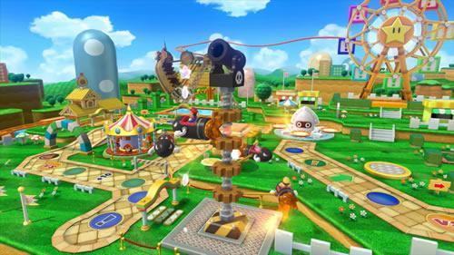 A screenshot of Mario Party 10 for Wii U from E3 2014 #7