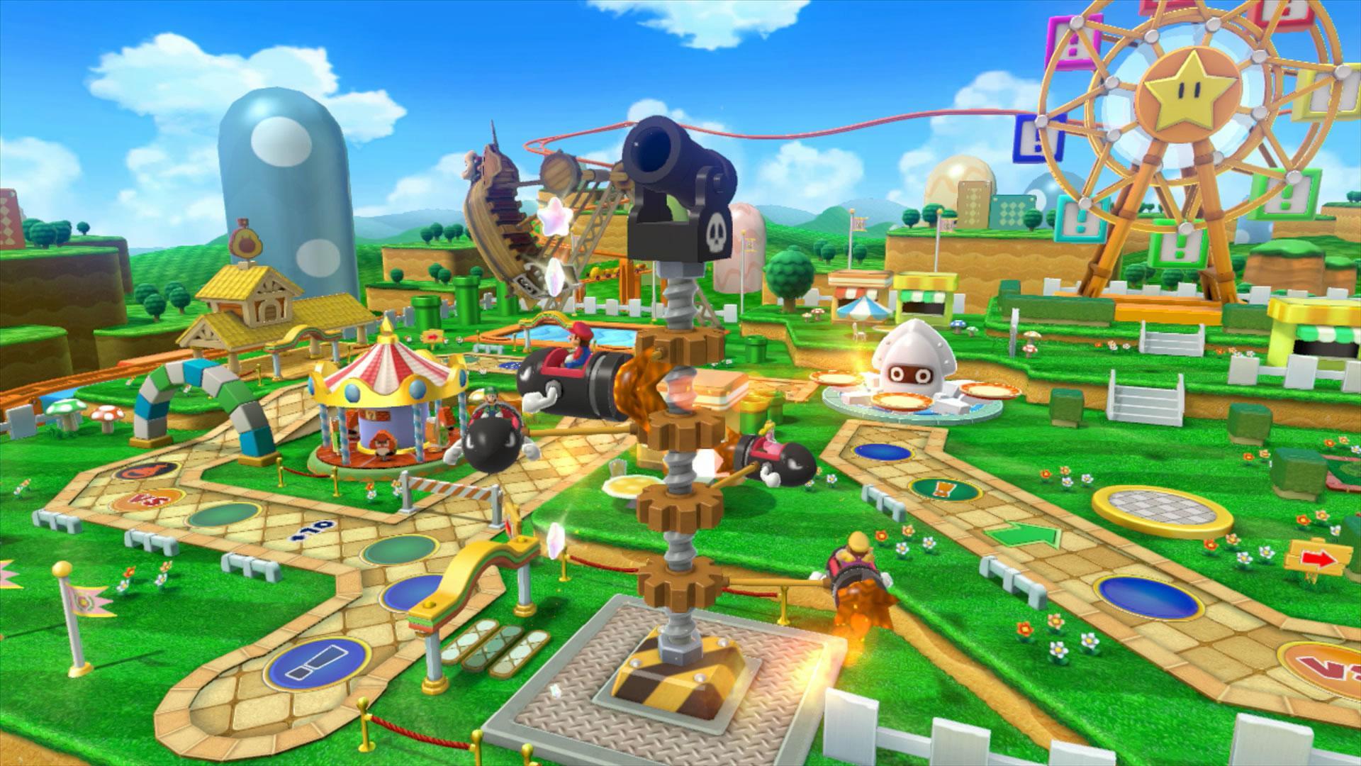 Mario Party 10 Wii U Screenshots