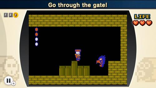 That horrible moment when the 'gate' flies at you and tries to eat you