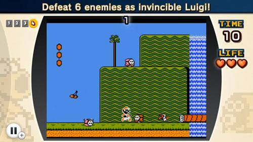 Invincible Luigi taking down his foes!