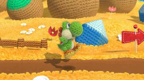 Yoshi's Woolly World E3 2014 Screenshot 1