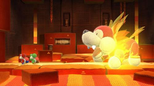 Yoshi's Woolly World E3 2014 Screenshot 2