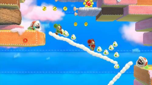 Yoshi's Woolly World E3 2014 Screenshot 3