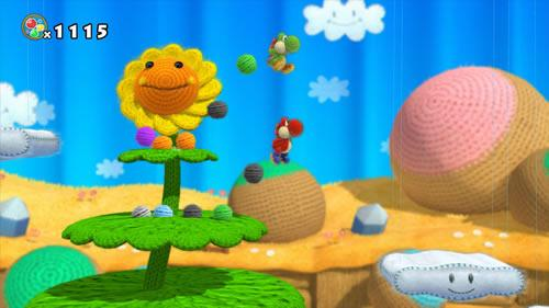 Yoshi's Woolly World E3 2014 Screenshot 4