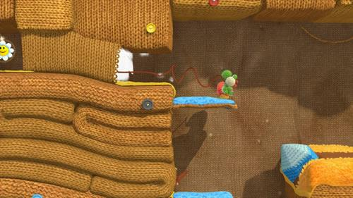 Yoshi's Woolly World E3 2014 Screenshot 5