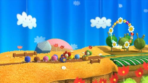 Yoshi's Woolly World E3 2014 Screenshot 6