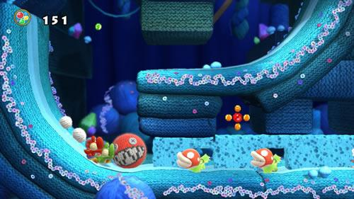 Yoshi's Woolly World E3 2014 Screenshot 7