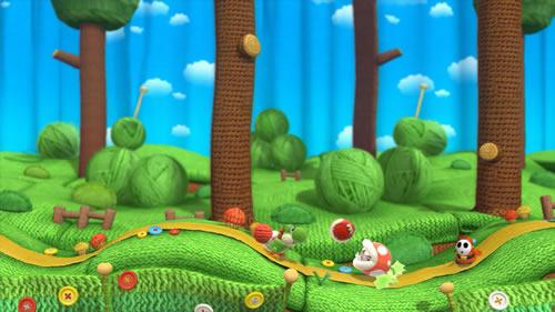 Yoshi's Woolly World E3 2014 Screenshot 9