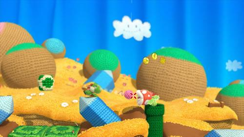 Yoshi's Woolly World E3 2014 Screenshot 10