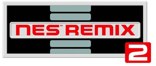 NES Remix 2 Logo for Wii U