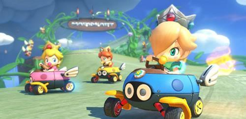Baby Peach, Baby Daisy and Baby Rosalina are ready to race in Mario Kart 8 tomorrow, are you?