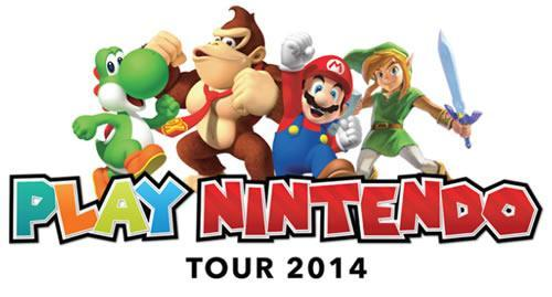 Play Nintendo Tour logo