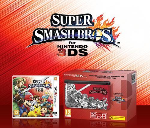 Super Smash Bros themed 3DS launched by Nintendo