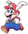 Rabbit Mario in Super Mario Land 2