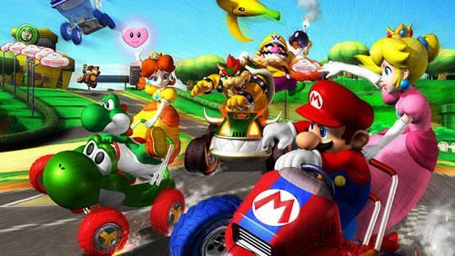 Mario Kart: Double Dash Art