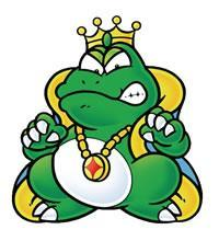 Wart, the main bad guy in Super Mario Advance