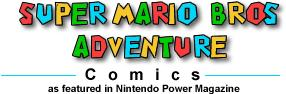 Super Mario Bros Adventure Comics - Mario & Wario Issue 2