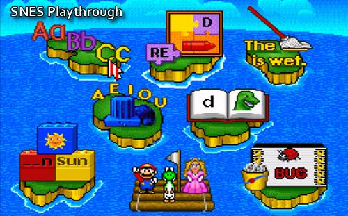 Header image for Mario is Missing SNES Playthrough