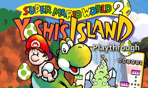 Welcome to our Super Mario World 2: Yoshi's Island playthrough at TMB