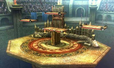 A Fire Emblem: Awakening: Arena Ferox stage in Super Smash Bros U and 3DS