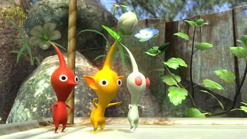 Pikmin stage in Super Smash Bros Wii U and 3DS