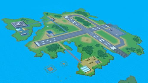 A Pilot Wings stage in Super Smash Bros U and 3DS