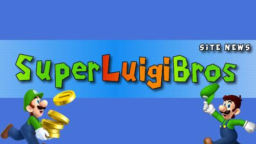 The latest news from Super Luigi Bros header image.