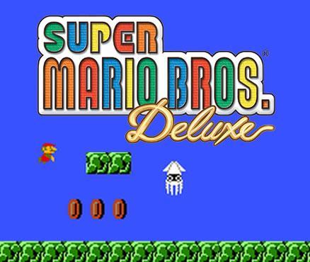 Super Mario Bros. Deluxe eShop release image from Nintendo