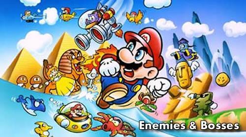 Super Mario Land Bosses & Enemies header image