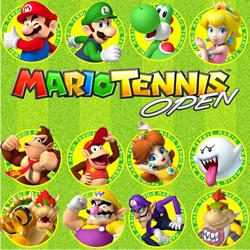 Mario Tennis Open characters