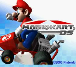 Mario Kart DS title screen