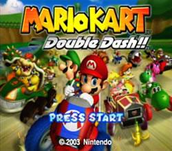 Mario Kart: Double Dash title screen