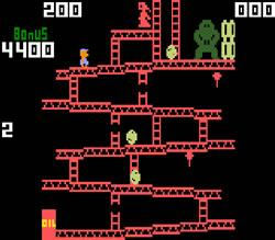 Donkey Kong Intellivision version screenshot