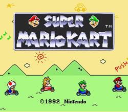 Super Mario Kart Review