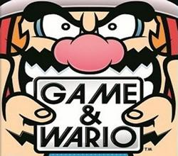 Game & Wario title screen for the Wii U