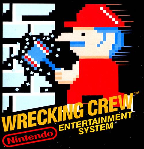 Artwork from the Wrecking Crew NTSC versions box (USA / Canada)
