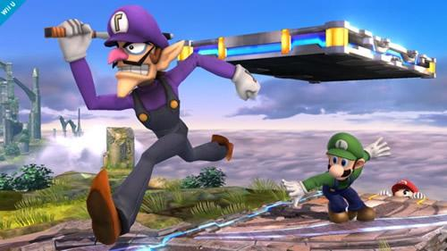 Waluigi will feature in SSB4 but not as a playable character
