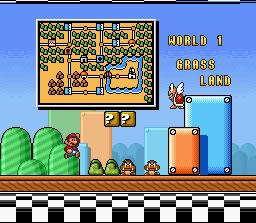 Super Mario Bros. 3 World 1 - Grass Land