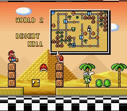 Super Mario Bros. 3 World 2 - Desert Hill