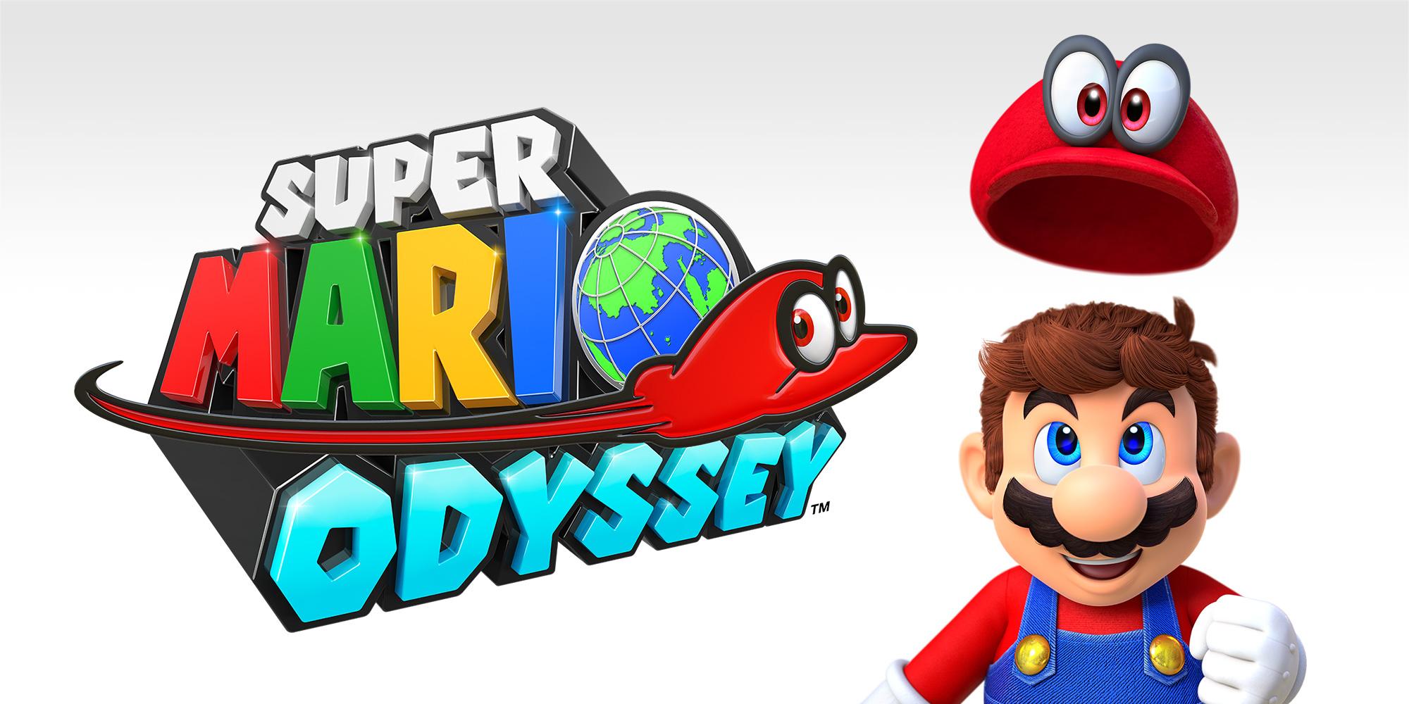 Super Mario Odyssey header