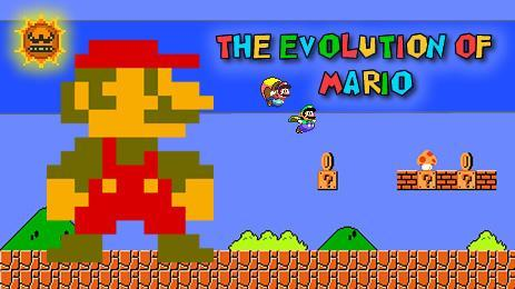 The Evolution of Mario - A History of how Mario has evolved