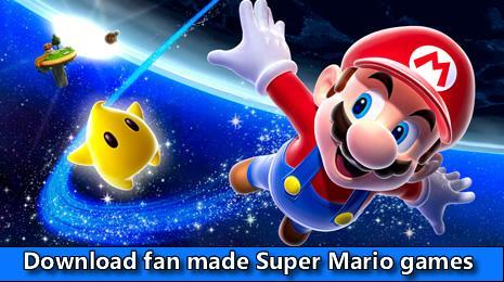 Download fan made Super Mario themed games