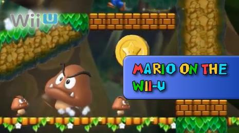 Super Mario Games on the Wii U header image