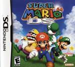 Super Mario 64 DS box cover