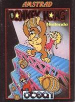 The classic Donkey Kong game was also released on the Amstrad CPC