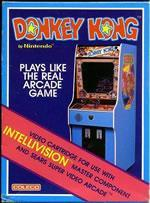 Donkey Kong on the Coleco Intellivision box cover